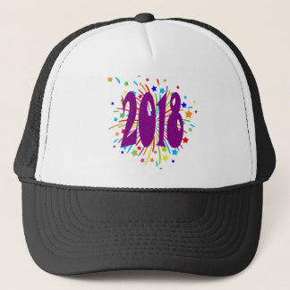 new year4 trucker hat