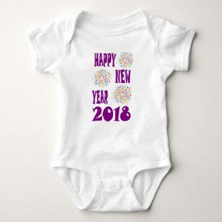 new year6 baby bodysuit