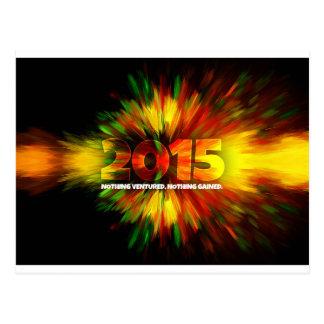 New Year 2015 Postcard