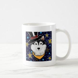 New Year Alaskan Malamute Coffee Mug