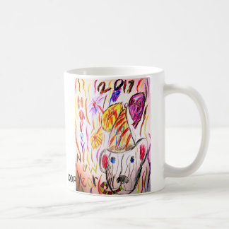 new year art 2017 2 coffee mug