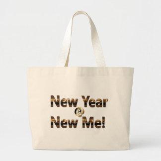 New Year at New ME Large Tote Bag