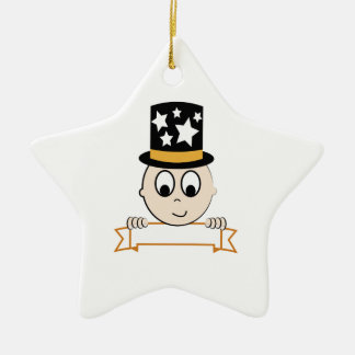 New Year Baby Christmas Ornament