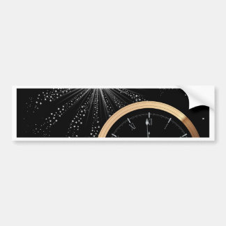 New Year Firework Bumper Sticker