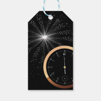 New Year Firework Gift Tags