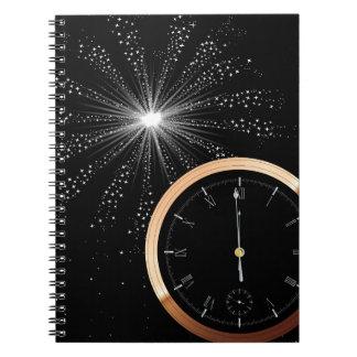 New Year Firework Notebook