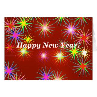 New Year Flash Card