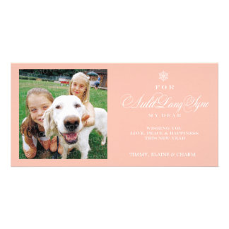 New Year For Auld Lang Syne Photo Card