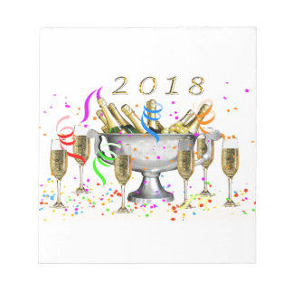 New Year Gifts Notepad