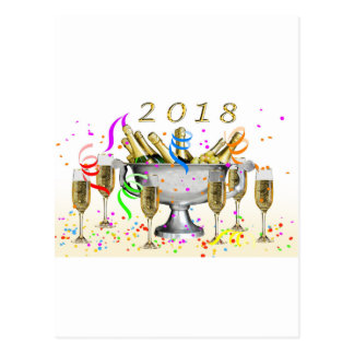 New Year Gifts Postcard