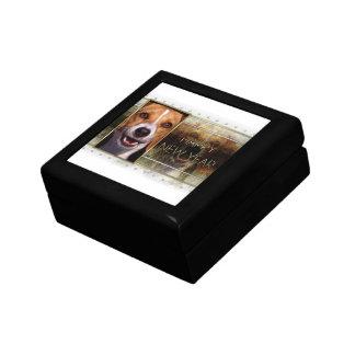 New Year - Golden Elegance - Beagle Jewelry Box