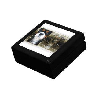 New Year - Golden Elegance - Cavalier - Tri-color Trinket Boxes