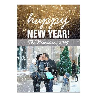 New Year Greeting Photo Card 13 Cm X 18 Cm Invitation Card