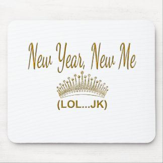 New Year, New Me LOL JK Mouse Pad