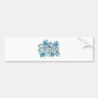 New Year or Christmas 2014 Decorations Bumper Sticker