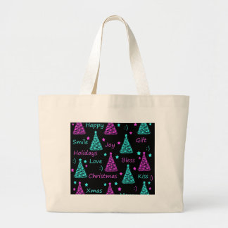New Year pattern 2 Large Tote Bag
