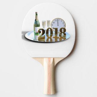 new year ping pong paddle
