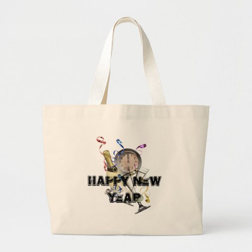 New Year Products Tote Bags