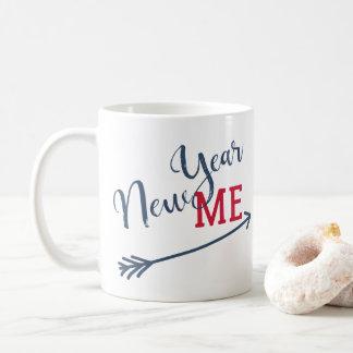 New year resolution funny typography reminder coffee mug