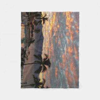 New Year Sunrise in Mexico Fleece Blanket