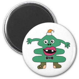 New Year Tree Monster Custom Magnet