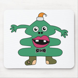 New Year Tree Monster Mousepad