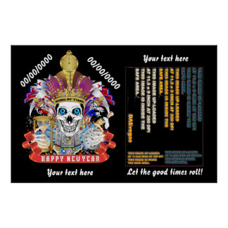 "New Years 60"" x 40"", Poster Re-Size"