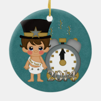 New Years - Baby New Year 2014 Ornaments