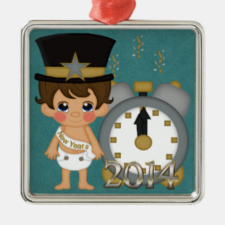 New Years - Baby New Year 2014 Christmas Ornament