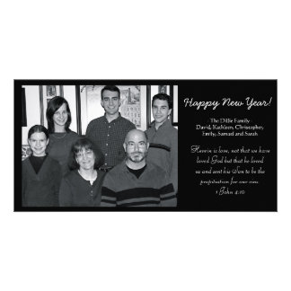 New Year's Card Picture Card