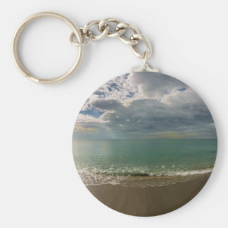 New Year's Day from Venice Florida Basic Round Button Key Ring