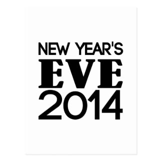 New Years Eve 2014 Postcards