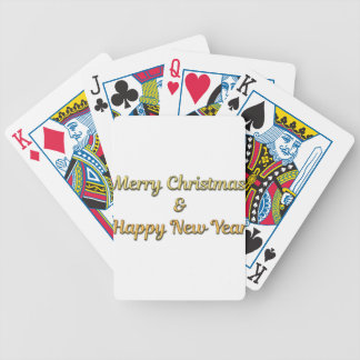 New-Years-Eve Bicycle Playing Cards