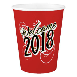 New Years Eve Celebration 2018 cup