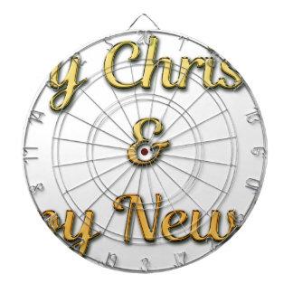 New-Years-Eve Dartboard