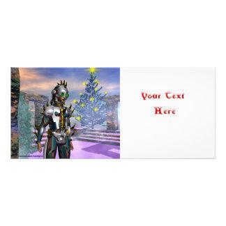 NEW YEAR'S EVE OF A CYBORG 10 CM X 23 CM RACK CARD