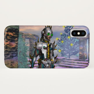 NEW YEAR'S EVE OF A CYBORG iPhone X CASE