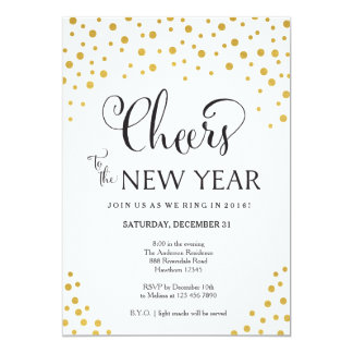 new year party invitation