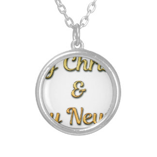 New-Years-Eve Silver Plated Necklace