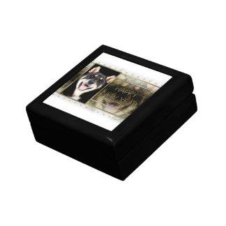 New Years - Golden Elegance - Shiba Inu - Hachi Jewelry Box
