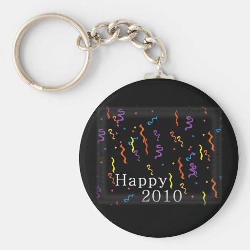 New Years Happy 2010 Keychain