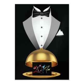 New Years Party 2014 - SRF 13 Cm X 18 Cm Invitation Card
