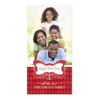 New Years Photocards Customized Photo Card