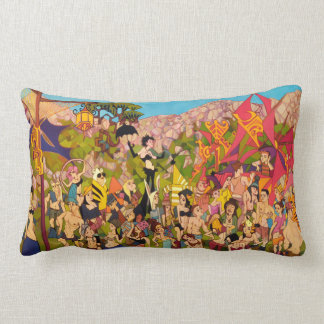 New Years Simi Valley Lumbar Cushion