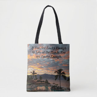 New Year's Sunrise in Mexico Tote Bag