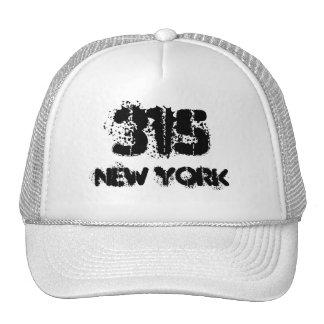 New York 315 area code. Cap
