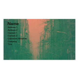 New York 5th Avenue Business Card Template