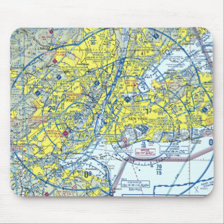 New York Airspace Mousepad