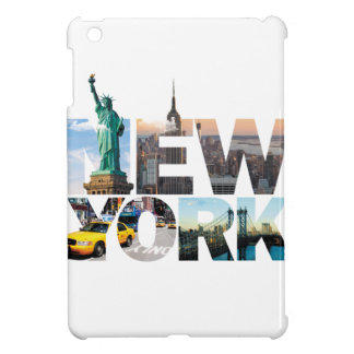New York Alphabet Montage iPad Mini Cases