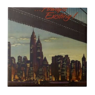 New York Always Exciting Ceramic Tile
